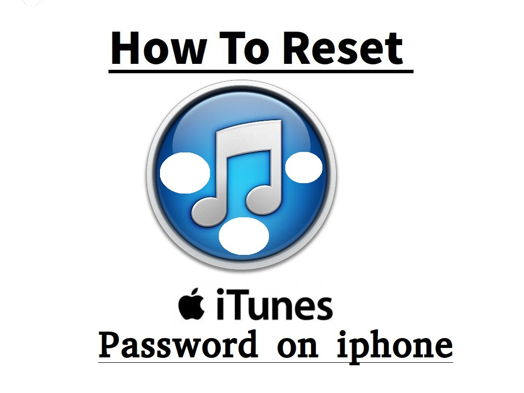 reset itunes password windows