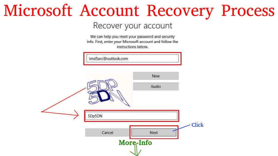 Microsoft-account-recovery-process