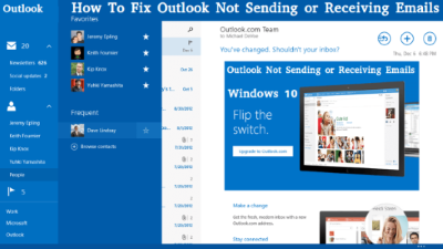 Outlook-Not-Sending-Emails