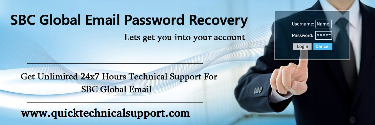 SBCGlobal Email Password Recovery