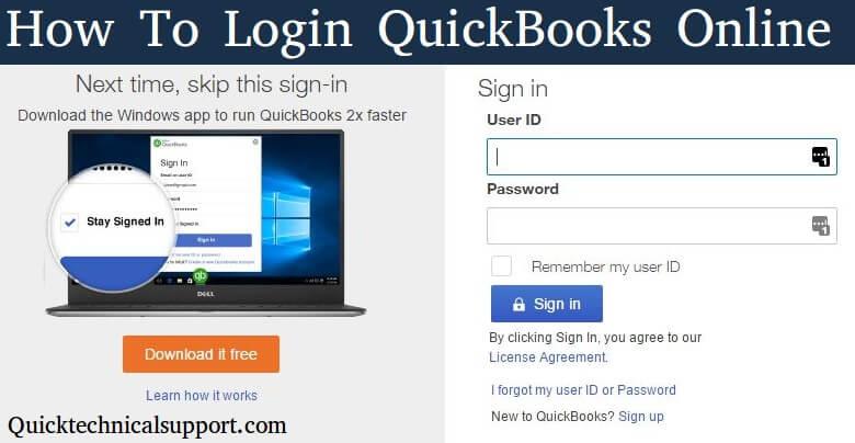 how-to-login-quickbooks-online